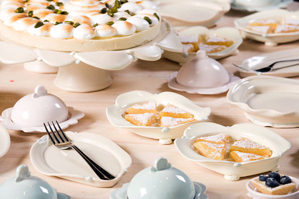 Lemon Dessert Table Setting detail of Cake Stand Lemon Trays Inidual Cake Plate and Covered Dishes serving desserts c6 42u2033 x 40u2033 x 42u2033 & Lemon | Jenny Gawronski